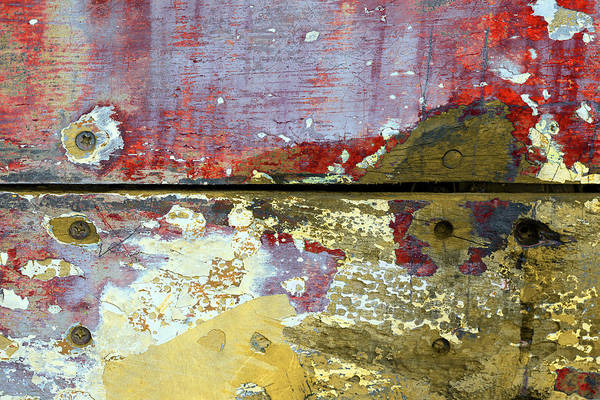 Photograph - Art Print Patina 24 by Harry Gruenert