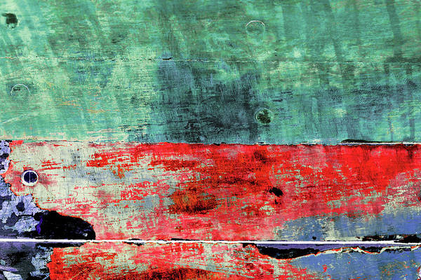 Photograph - Art Print Patina 28 by Harry Gruenert