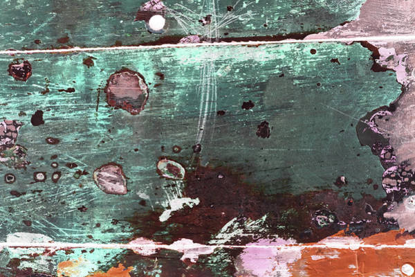 Photograph - Art Print Patina 46 by Harry Gruenert