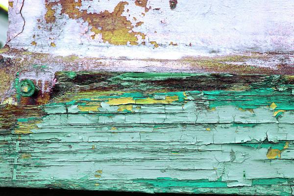 Photograph - Art Print Walls 39 by Harry Gruenert