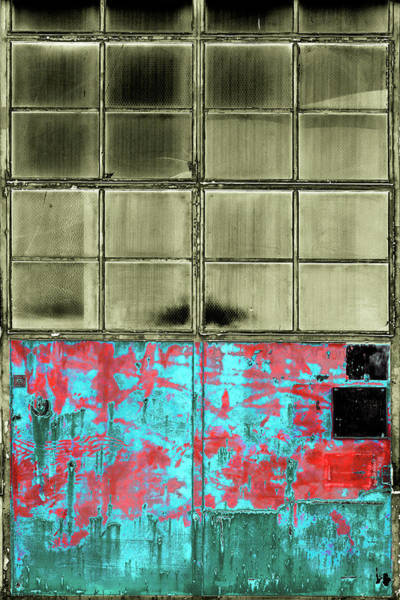 Photograph - Art Print Windows 18 by Harry Gruenert
