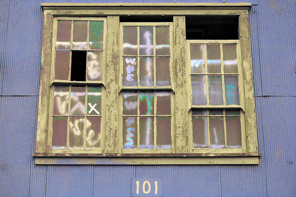 Photograph - Art Print Windows 2 by Harry Gruenert