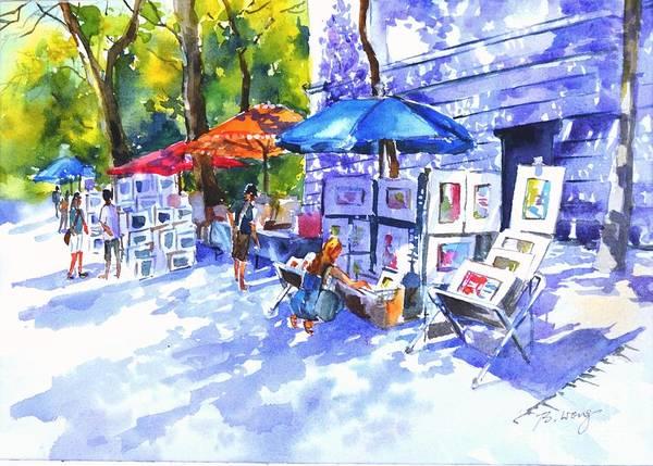 Painting - Art Sale by Betty M M Wong