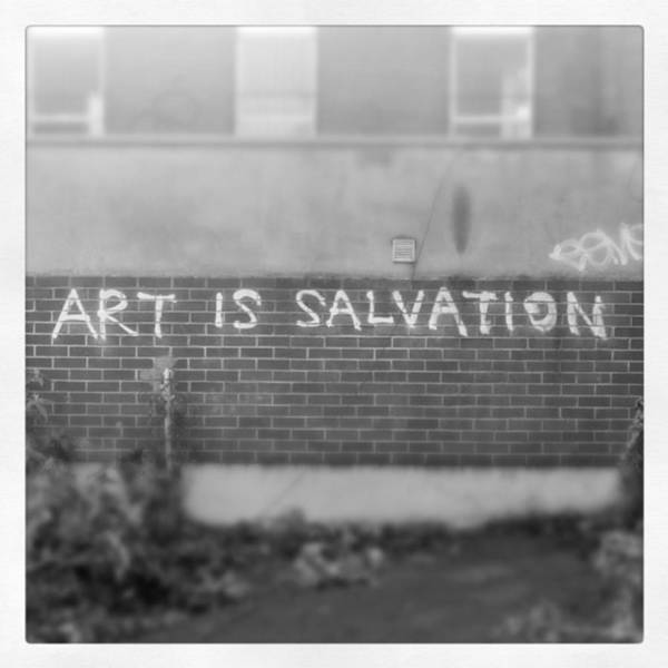 Salvation Wall Art - Photograph - #art #salvation #pudsey #mid #13 by Mid Middleton