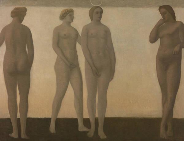Painting - Artemis by Vilhelm Hammershoi