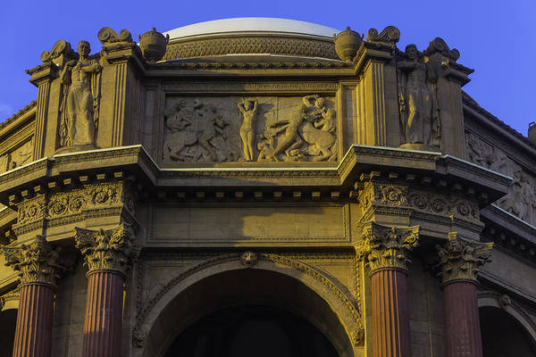 Allegory Photograph - Artful Palace Of Fine Arts by Garry Gay