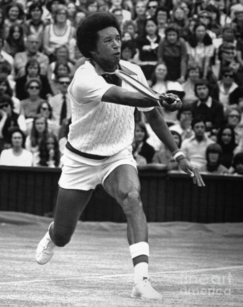 Photograph - Arthur Ashe by Granger