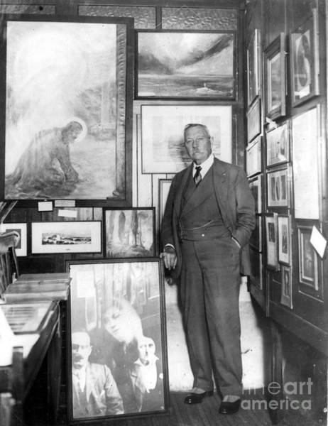 Conan Photograph - Arthur Conan Doyle by Granger
