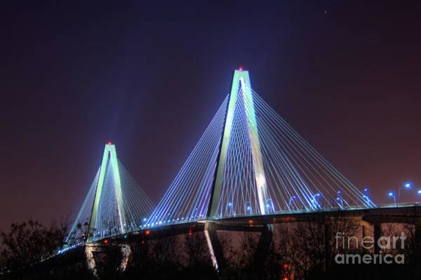 Conyers Photograph - Arthur Ravenel Bridge by Corky Willis Atlanta Photography