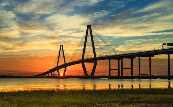 Photograph - Arthur Ravenel Jr. Bridge - Charleston Sc by Donnie Whitaker