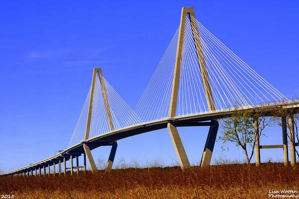Photograph - Arthur Ravenel Jr. Bridge Charleston Sc by Lisa Wooten