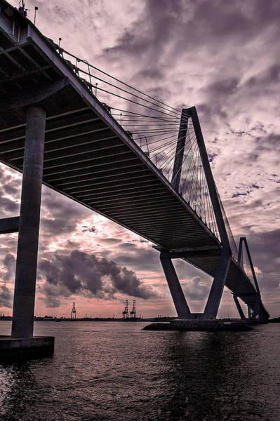 Wall Art - Photograph - Arthur Ravenel Jr. Bridge by Drew Castelhano