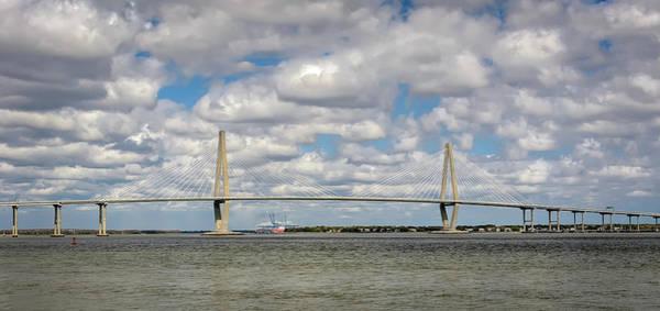 Photograph - Arthur Ravenel Jr. Bridge I by Robert Mitchell