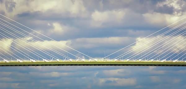 Photograph - Arthur Ravenel Jr. Bridge II by Robert Mitchell