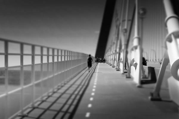 Charleston Photograph - Arthur Ravenel Jr Bridge Runner by Ivo Kerssemakers