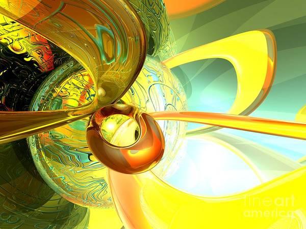 Wall Art - Digital Art - Articulate Design Abstract by Alexander Butler