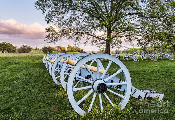 Wall Art - Photograph - Artillery Park At Valley Forge by John Greim