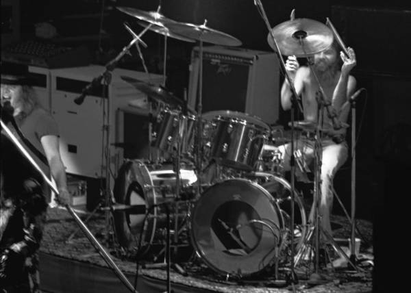 Lynyrd Skynyrd Photograph - Artimus Pyle At Winterland by Ben Upham