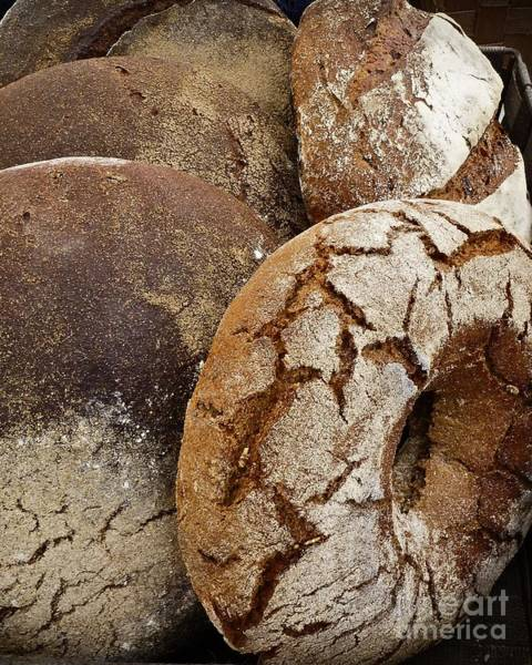 Photograph - Artisanal Breads by Dee Flouton