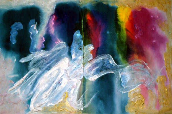 Emanate Painting - Artist Palette by Don  Wright