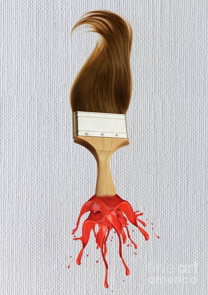 Cut-out Mixed Media - Artist - Gray by Prar Kulasekara