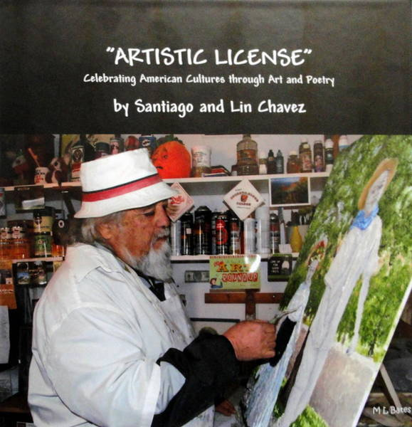 Painting - Artistic License  Volume One by Santiago Chavez