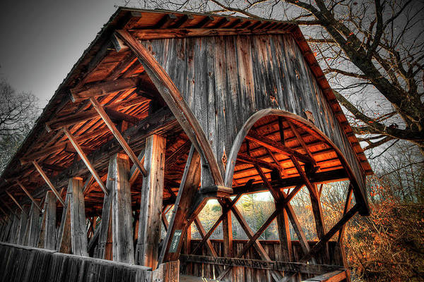 Photograph - Artists' Bridge 1 by Patrick Groleau