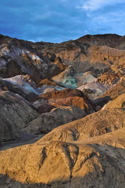 Photograph - Artist's Palette Death Valley Sunset by Kyle Hanson