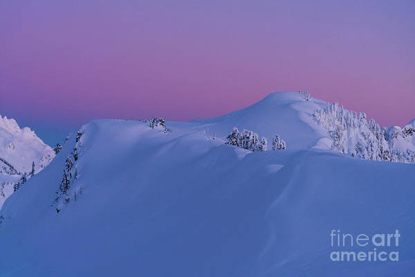 Wall Art - Photograph - Artists Point Dusk Snowscape by Mike Reid
