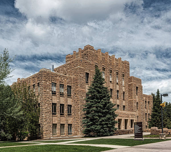 Laramie Photograph - Arts And Sciences Building - University Of Wyoming by Mountain Dreams