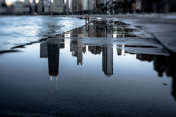 Photograph - Artsy Look At Chicago's Lakefront by Sven Brogren