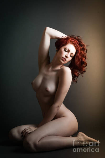 Passionate Photograph - Artsy Red Pin Up by Jt PhotoDesign