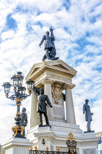 Prat Photograph - Arturo Prat Monument by Jess Kraft