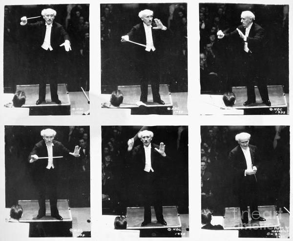 Photograph - Arturo Toscanini by Granger