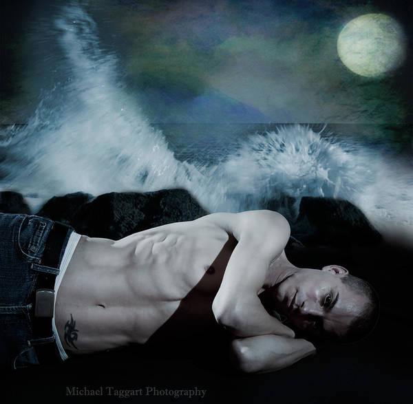 Photograph - Arty Wet Dream by Michael Taggart