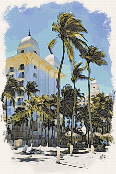 Wall Art - Photograph - Aruba Palms Two by Alice Gipson