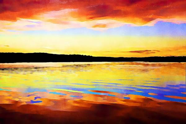 Photograph - As Above So Below - Digital Paint by Tatiana Travelways