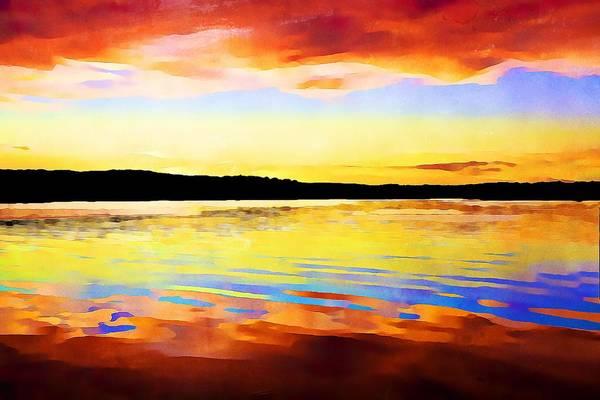 As Above So Below - Digital Paint Art Print
