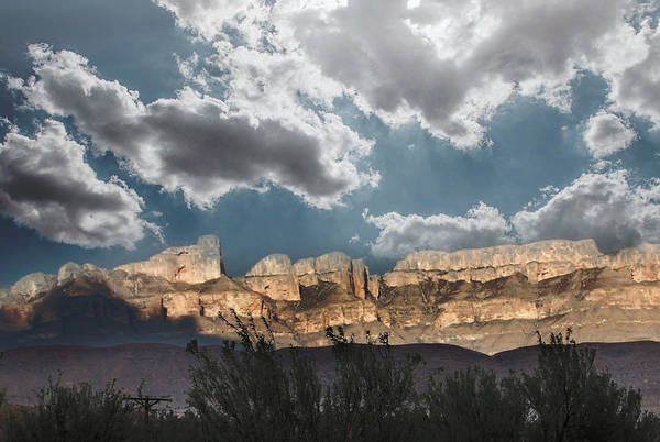 Photograph - As Night Falls In Big Bend by Judy Hall-Folde
