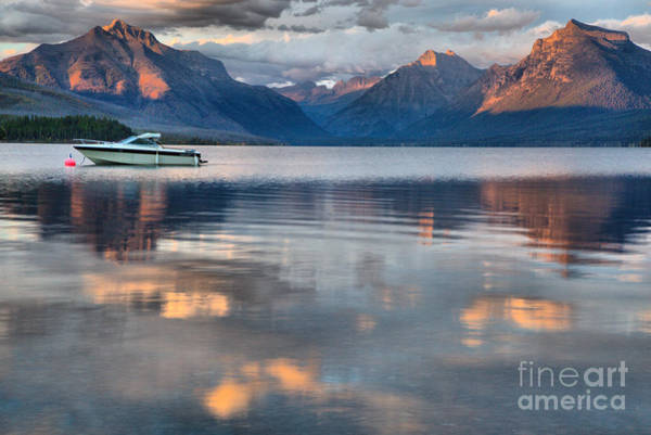 Photograph - As The Day Ends At West Glacier by Adam Jewell