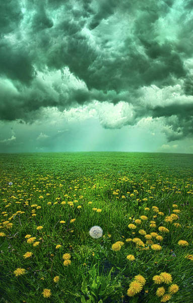 Summer Storm Photograph - As The Roads Fade Away by Phil Koch