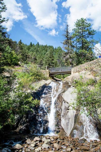 Helen Hunt Falls Photograph - As The Water Falls by Deborah Klubertanz