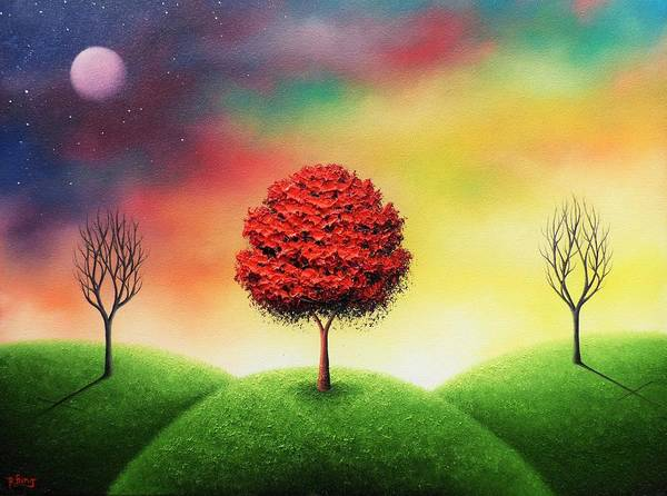 Dreamscape Painting - As We Are Not by Rachel Bingaman