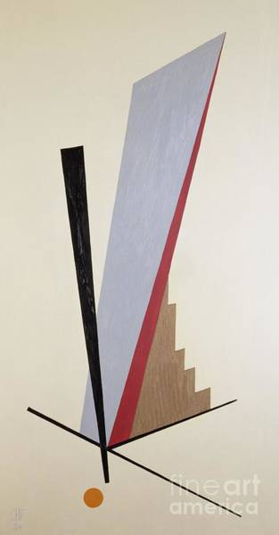 Anti Wall Art - Painting - Ascending by Carolyn Hubbard-Ford