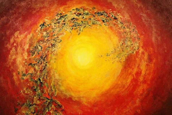Tara Painting - Ascending Light by Tara Thelen - Printscapes