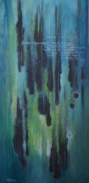 Painting - Ascension Happens by Laurie Maves ART