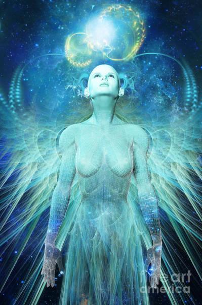 Universe Digital Art - Ascension by John Edwards