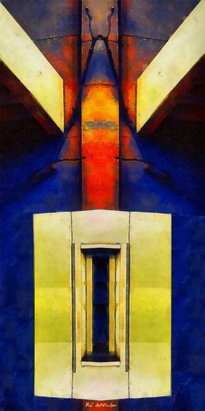 Painting - Ascension by RC DeWinter
