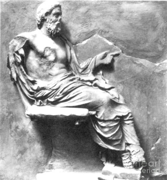 Photograph - Asclepius by Granger