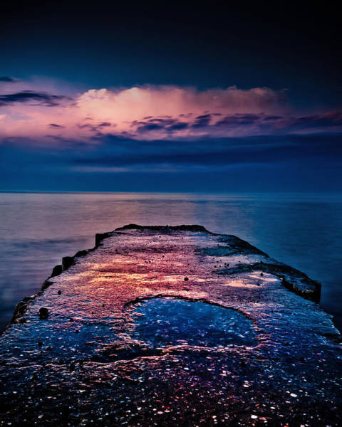 Photograph - Ashbridges Bay Toronto Canada Dock At Sunrise No 1 by Brian Carson